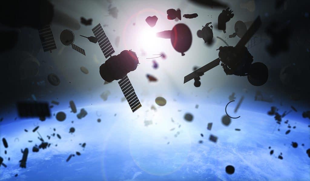 in orbit objects