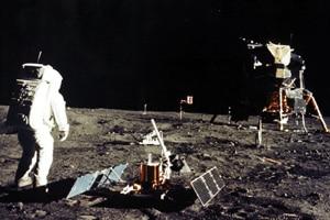 Neil Armstrong Moonwalk