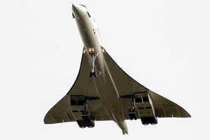 Supersonic Concorde