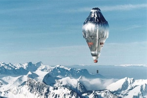 Breitling Orbiter 3 balloon, piloted by Bertrand Piccard and Brian Jones