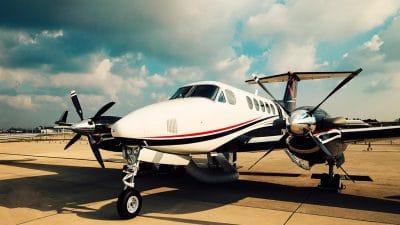 Small private plane