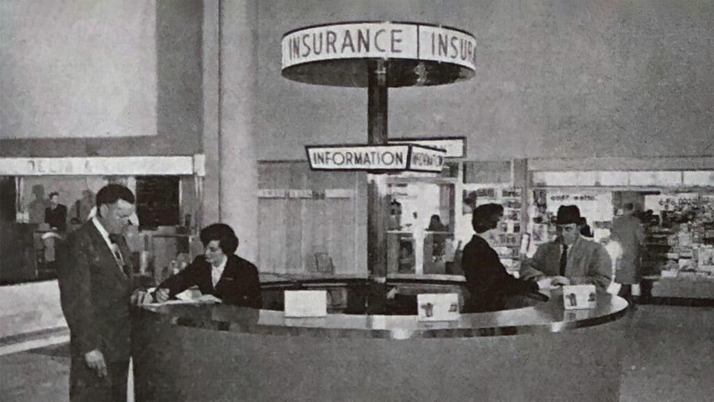 insurance counter